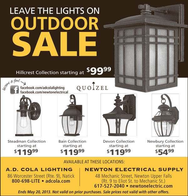 Leave the Lights On Outdoor Sale