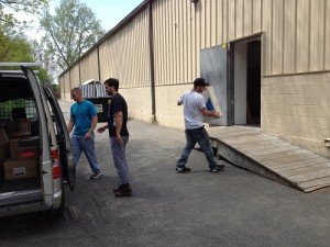 A.D. Cola Lighting donates to ReStore
