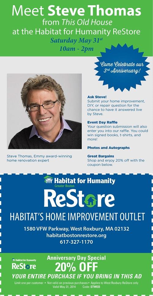 Habitat for Humanity, steve thomas