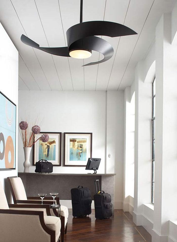 A good time for a ceiling fan ad cola lighting fanimation torto fan in matte black aloadofball Gallery