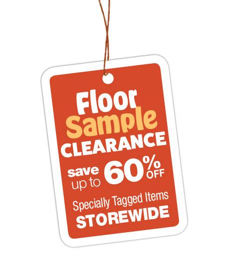 Floor Sample Clearance Sale