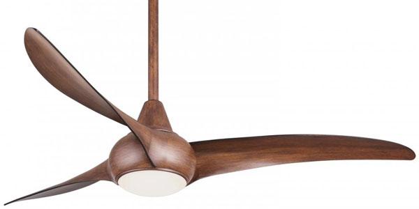 Lightwave ceiling fan