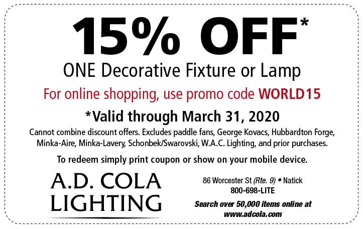 Coupon Ad Cola Lighting